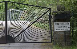 May 28, 2017 - Stockholm, Sweden - Prince Carl Philip and Princess Sofia will soon move into Villa Solbacken at Djurgarden in Stockholm. Villa Solbacken, which used to be the home of Price Bertil and Princess Lilian, has been under renovation since they died...2017-05-28..(c) Johan Jeppsson / IBL BildbyrÃ¥....Villa Solbacken, vid DjurgÃ¥rdsbrunnskanalen, blir snart Prins Carl Philip och prinsessan Sofias bostad. Villan testamenterades frÃ¥n prins Bertil till Carl Philip 1997. (Credit Image: © Johan Jeppsson/IBL via ZUMA Press)