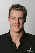 Michael Jack during a photoshoot for NZ Swimming at the Millenium Institute, Auckland, on Sunday 17 December 2006. Photo: Hannah Johnston/PHOTOSPORT<br /><br /><br />171206