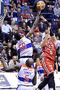 DESCRIZIONE : Milano Lega A 2014-15  EA7 Emporio Armani Milano vs Enel Brindisi<br /> GIOCATORE : Eric Micheal<br /> CATEGORIA : Stoppata<br /> SQUADRA : Enel Brindisi<br /> EVENTO : Campionato Lega A 2014-2015<br /> GARA : EA7 Emporio Armani Milano vs Enel Brindisi<br /> DATA : 05/01/2015<br /> SPORT : Pallacanestro <br /> AUTORE : Agenzia Ciamillo-Castoria/I.Mancini<br /> Galleria : Lega Basket A 2014-2015  <br /> Fotonotizia : Milano Lega A 2014-2015 Pallacanestro : EA7 Emporio Armani Milano vs Enel Brindisi<br /> Predefinita :
