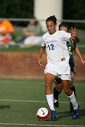 Virginia Cavaliers F Jess Rostedt (12)..The Virginia Cavaliers Women's Soccer Team defeated the University of Vermont 6-0 on September 15, 2006 at Klöckner Stadium in Charlottesville, VA...