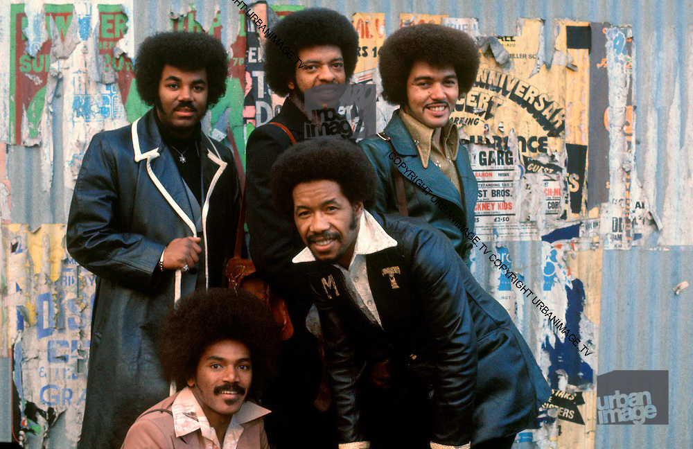 The Chi-lites photographed in London in the late 1970s.<br /> &copy; Adrian Boot / Retna UK