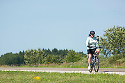 Rest stop, Highway 3, between Mistatim and Prairie River, Day 6.