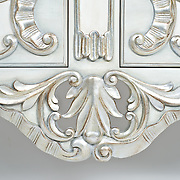Silver Hand Carved Head Board © Donnelly Marks
