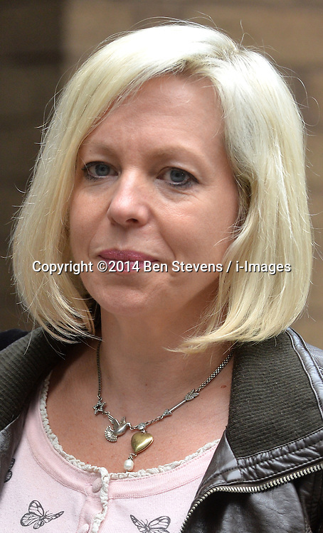 Rolf Harris and his daughter Bindi Nicholls (pictured) leave Southwark Crown Court, London, UK.<br /> Monday, 2nd June 2014. Picture by Ben Stevens / i-Images