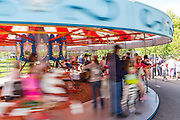 City of Saskatoon offers free rides (normally $1 per ride) on the last day of operation of the Kinsmen Park train and carousel, Labour Day, Monday, September 3, 2012. The City is decommissioning the miniature train and carousel for a 25-year multimillion-dollar plan to renovate the 46-acre Kinsmen Park. A ferris wheel was removed several years ago. On March 5, 2013, the City of Saskatoon announced that the 38-year-old train had been sold to Country Fun Farms, a 70-acre theme farm 10 km east of Prince Albert.