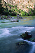 The Gunnison River, Black Canyon of the Gunnison National Park, Colorado