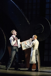 The Canadian Stage production of The Overcoat, at the St James Theatre in Wellington during the New Zealand International Festival of the Arts. <br /> <br /> Photo by Robert Catto, taken on Thursday, 11 March 2004.