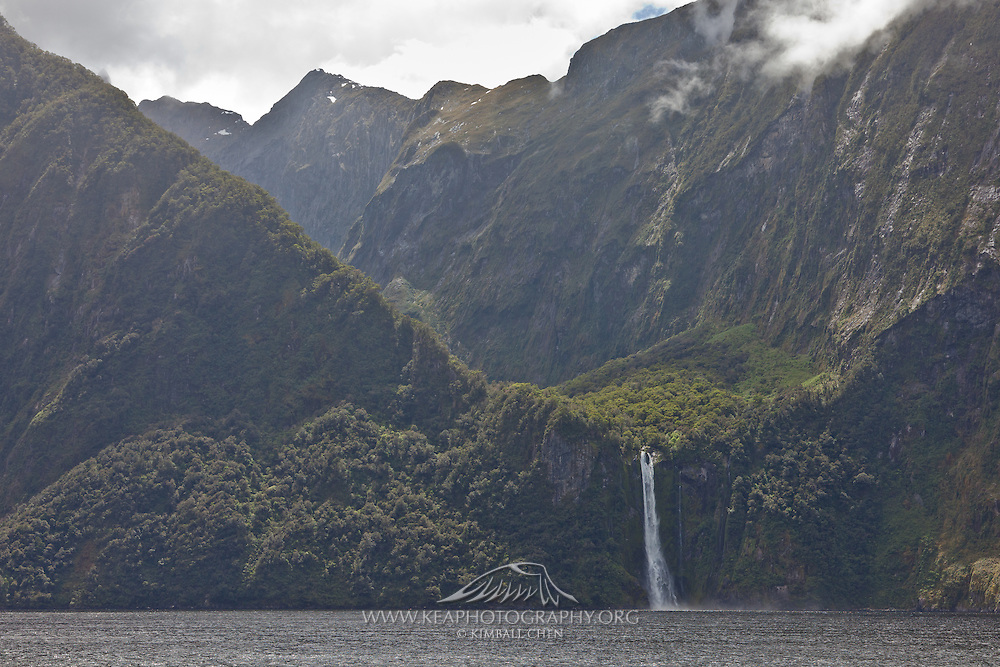 Stirling Falls, Milford, Fiordland, New Zealand
