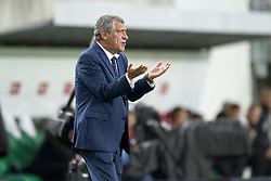 September 3, 2017 - Budapest, Hungary - Fernando Santos Manager of Portugal during the FIFA World Cup 2018 Qualifying Round match between Hungary and Portugal at Groupama Arena in Budapest, Hungary on September 3, 2017  (Credit Image: © Andrew Surma/NurPhoto via ZUMA Press)