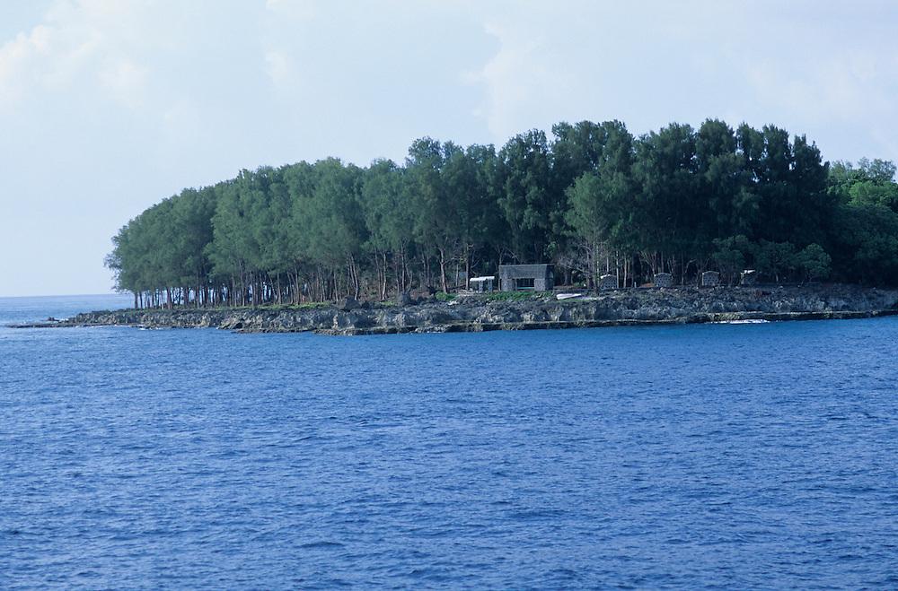 Republic of Palau, Rock Islands, Peliliu, WWII Battle
