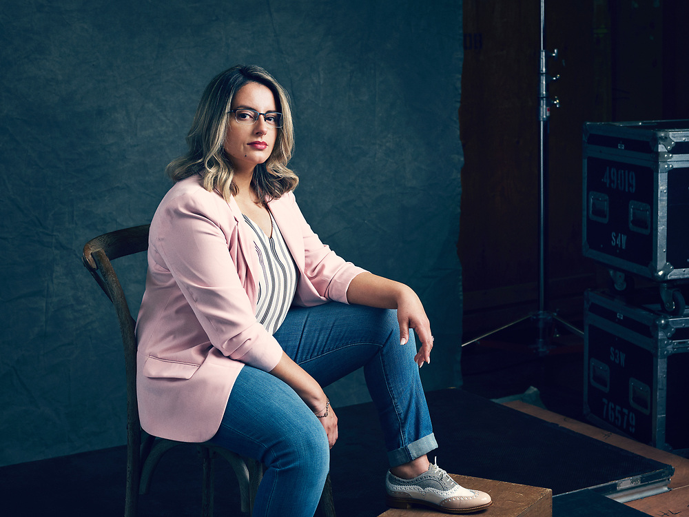 Ivonne Roman, TED Fellow. TED2019: Bigger Than Us. April 15 - 19, 2019, Vancouver, BC, Canada. Photo: Bret Hartman / TED