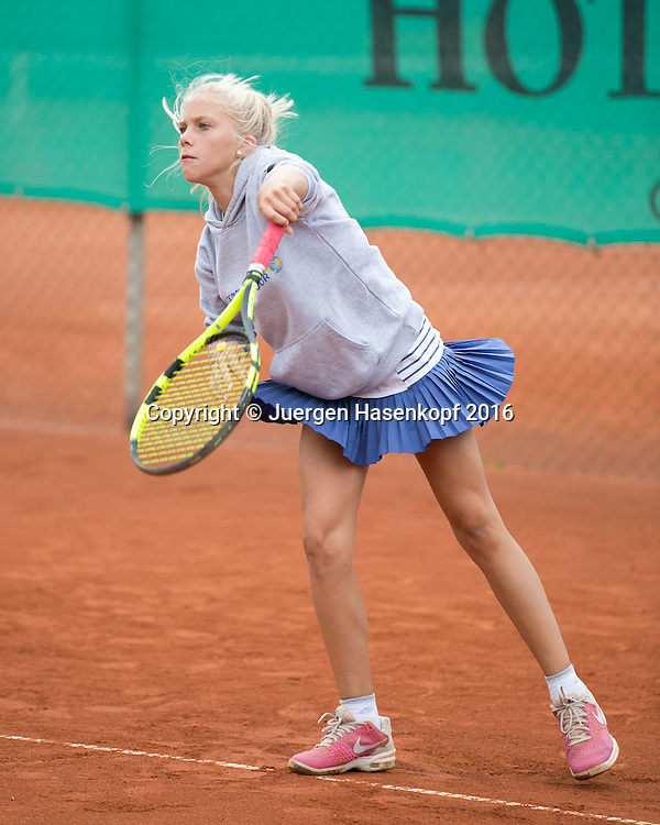 Tennis Europe-Bavarian Junior Open, Maja Jung (GER) GS16<br /> <br /> Tennis - Bavarian Junior Open 2016 - Tennis Europe Junior Tour -  SC Eching - Eching - Bayern - Germany  - 9 August 2016. <br /> &copy; Juergen Hasenkopf