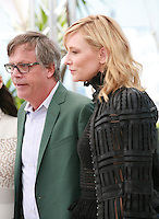 Director Todd Haynes and actress Cate Blanchett at the photocall for the film Carol at the 68th Cannes Film Festival, Sunday May 17th 2015, Cannes, France.