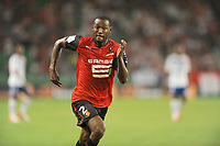 FOOTBALL - FRENCH CHAMPIONSHIP 2012/2013 - L1 - STADE RENNAIS v OLYMPIQUE LYONNAIS - 11/08/2012 - PHOTO PASCAL ALLEE / HOT SPORTS / DPPI - KEVIN THEOPHILE CATHERINE (REN)