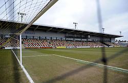 General view inside Rodney Parade. - Mandatory byline: Alex James/JMP - 19/03/2016 - FOOTBALL - Rodney Parade - Newport, England - Newport County v Bristol Rovers - Sky Bet League Two