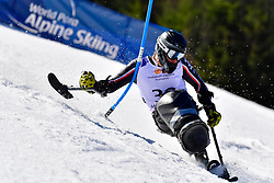 CAIRNS Alex, LW12-1, CAN, Slalom at the WPAS_2019 Alpine Skiing World Cup Finals, Morzine, France