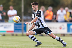 Adrian Dalmau of Heracles Almelo during the Pre-season Friendly match between Heracles Almelo and Fiorentina at Sportpark Wiesel  on August 01, 2018 in Wenum-Wiesel , The Netherlands