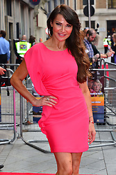 Bula Quo UK film premiere.  <br /> Lizzie Cundy attends premiere of Status Quo action film featuring 12 of the rock band's classic tracks. Directed by former stunt co-ordinator Stuart St Paul, starring Jon Lovitz, Craig Fairbrass, Laura Aikman and the band members themselves. Released July 5. Odeon West End, London, United Kingdom.<br /> Monday, 1st July 2013<br /> Picture by Nils Jorgensen / i-Images