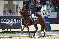Rahmouni Yessin, MAR, Impress Taonga<br /> World ChampionshipsYoung Dressage Horses<br /> Ermelo 2018<br /> © Hippo Foto - Dirk Caremans<br /> 02/08/2018
