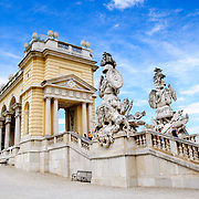 Gloriette at Schonbrunn Palace