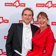 NLD/Amsterdam/20180622 - Inloop Dance4life gala 2018, VVD lid Marja Ruigrok  en partner