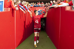 September 30, 2017 - Limerick, Ireland - Conor Murray of Munster thanks his fans during the Guinness PRO14 Conference A Round 5 match between Munster Rugby and Cardiff Blues at Thomond Park in Limerick, Ireland on September 30, 2017  (Credit Image: © Andrew Surma/NurPhoto via ZUMA Press)