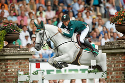 Allen Bertram, (IRL), Molly Malone V<br /> Individual Final Competition round 2<br /> FEI European Championships - Aachen 2015<br /> © Hippo Foto - Dirk Caremans<br /> 23/08/15