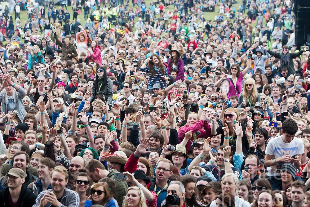 .Saturday at Rockness 2012..©Michael Schofield..