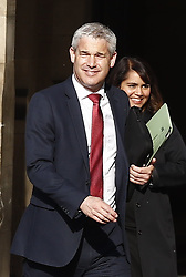 © Licensed to London News Pictures. 22/05/2019. London, UK. Brexit Secretary Stephen Barclay smiles as he leaves Parliament. Photo credit: Peter Macdiarmid/LNP