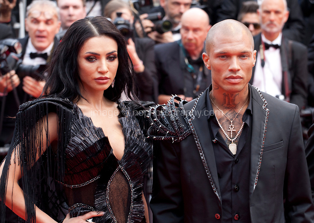 Andreea Sasu and Jeremy Meeks at the Opening Ceremony and The Dead Don't Die gala screening at the 72nd Cannes Film Festival Tuesday 14th May 2019, Cannes, France. Photo credit: Doreen Kennedy