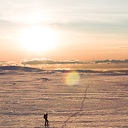 Arnar Felix Einarsson, Tindfjöll mountain range, Iceland.