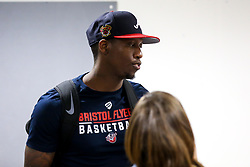 Fred Thomas of Bristol Flyers meets fans - Mandatory by-line: Robbie Stephenson/JMP - 17/09/2019 - BASKETBALL - SGS Arena - Bristol, England - Bristol Flyers Open Training Session