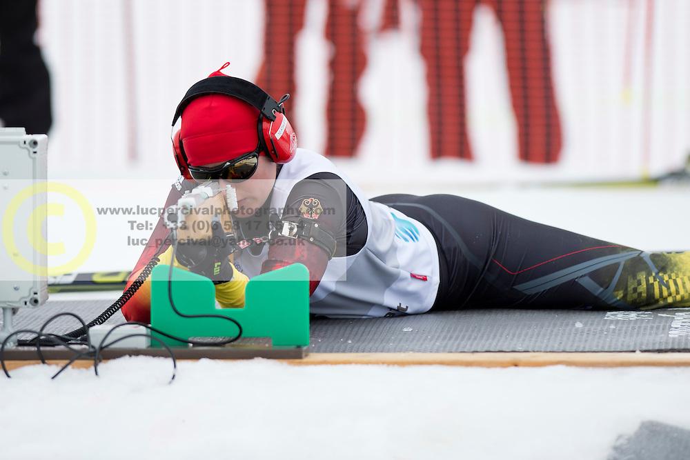 HOSCH Vivian Guide: SCHILLINGER F, GER, Long Distance Biathlon, 2015 IPC Nordic and Biathlon World Cup Finals, Surnadal, Norway