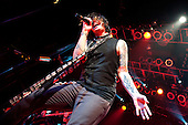 Hinder in Cleveland, OH on July 25, 2011