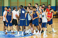 Spain during training session before EuroBasket 2017 in Madrid. August 02, 2017. (ALTERPHOTOS/Borja B.Hojas)