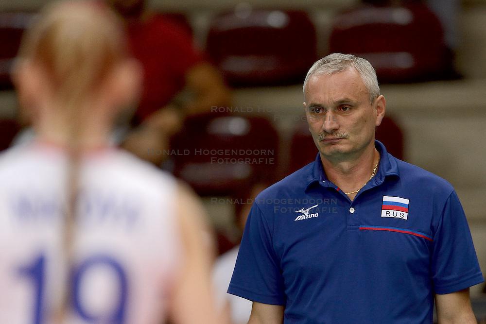 24-09-2014 ITA: World Championship Volleyball Rusland - Mexico, Verona<br /> Rusland wint met 3-0 / Yury Marichev