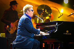 Elton John captivates the audience.