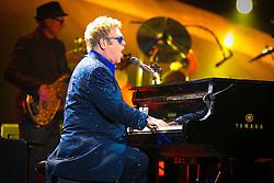 Elton John captivates the audience.