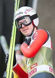 03.01.2015, Bergisel Schanze, Innsbruck, AUT, FIS Ski Sprung Weltcup, 63. Vierschanzentournee, Innsbruck, vor dem Trainingssprung, im Bild Simon Ammann (SUI) // Simon Ammann of Switzerland  preparing for the Training Jump for the 63rd Four Hills Tournament of FIS Ski Jumping World Cup at the Bergisel Schanze in Innsbruck, Austria on 2015/01/03. EXPA Pictures © 2015, PhotoCredit: EXPA/ JFK