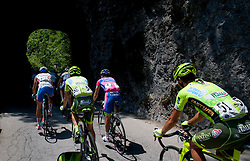 Peloton  during Stage 3 from Skofja Loka to Vrsic (170 km) of cycling race 20th Tour de Slovenie 2013,  on June 15, 2013 in Slovenia. (Photo By Vid Ponikvar / Sportida)