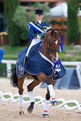 Meulendijks Anne (NED) - President's MDH Avanti<br /> European Championships Dressage Junior and Young Riders 2014<br /> © Hippo Foto - Leanjo de Koster