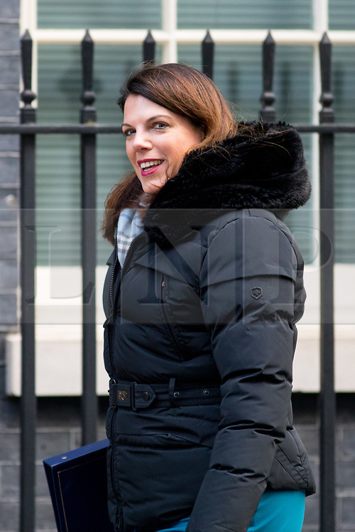 © Licensed to London News Pictures. 06/02/2018. London, UK. Minister of State for Immigration Caroline Noakes arriving in Downing Street to attend a Cabinet meeting this morning. Photo credit : Tom Nicholson/LNP