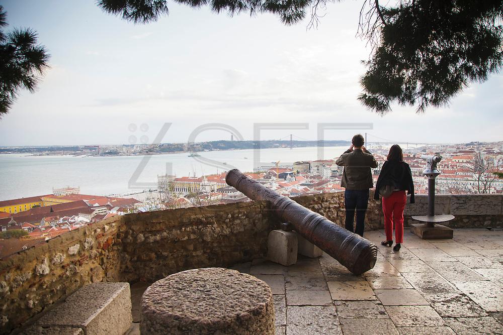 Saint George Castle - Castelo de Sao Jorge in Lisbon