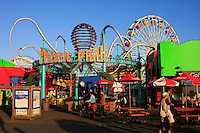 The Santa Monica Pier in Santa Monica California USA, offers fun for every age group of people.