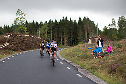 Sabrina Stultiens (NED) of Team Sunweb rides in the break of the day in the long loop of the Crescent Vargarda - a 152 km road race, starting and finishing in Vargarda on August 13, 2017, in Vastra Gotaland, Sweden. (Photo by Balint Hamvas/Velofocus.com)