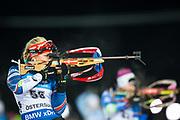 &Ouml;STERSUND, SVERIGE - 2017-12-03: Lucie Charv&aacute;tov&aacute; under damernas jaktstart t&auml;vling under IBU World Cup Skidskytte p&aring; &Ouml;stersunds Skidstadion den 1 december 2017 i &Ouml;stersund, Sverige.<br /> Foto: Johan Axelsson/Ombrello<br /> ***BETALBILD***