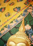 Buddha head flame