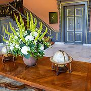 NLD/Den Haag/20190703 - Bezichtiging kamers paleis Huis ten Bosch, vestibule