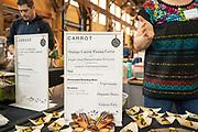 Carrot, Daucus carota<br /> Showcase: Experimental breeding lines<br /> Breeders: Phil Simon, USDA & Organic Seed Alliance Chef: Janna Shields, Organic Seed Alliance