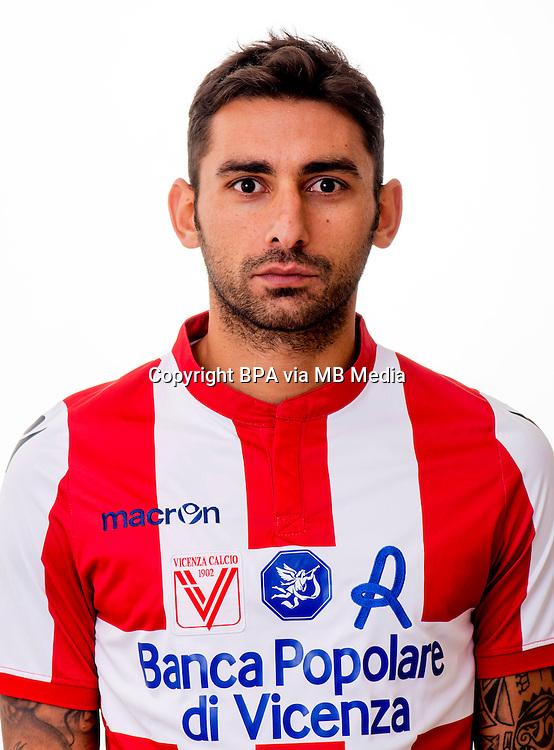 Italian League Serie B_2015-2016 / <br /> ( Vicenza Calcio 1902 ) -  <br /> Michele Pazienza